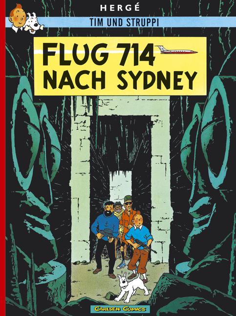 Tim und Struppi, Carlsen Comics, Neuausgabe, Bd.21, Flug 714 nach Sydney - Herge