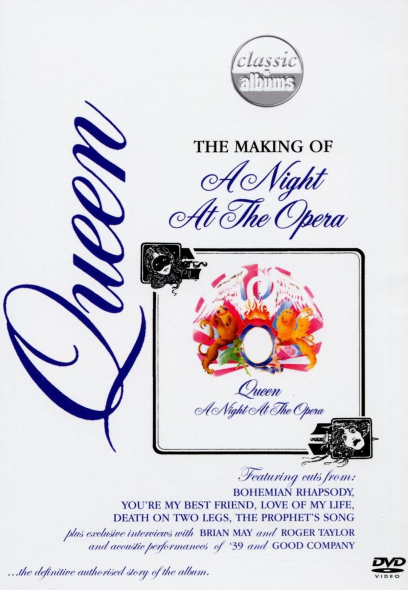 Queen - Making of a night at the... opera - Cla...