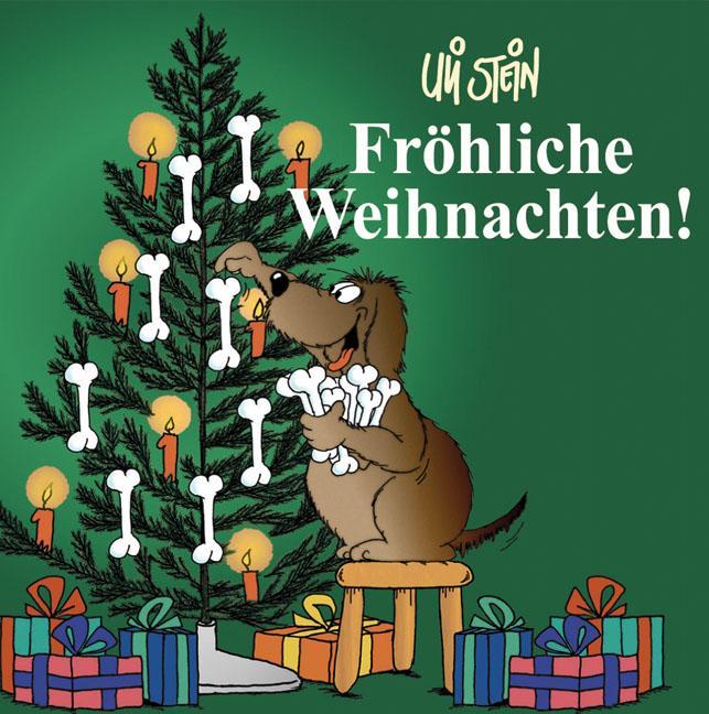 Fröhliche Weihnachten! (Hund) - Uli Stein