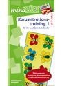 mini LÜK - Konzentrationstraining 1: Stärkung von Ausdauer, Konzentration und Gedächtnisleistung - Heinz Vogel