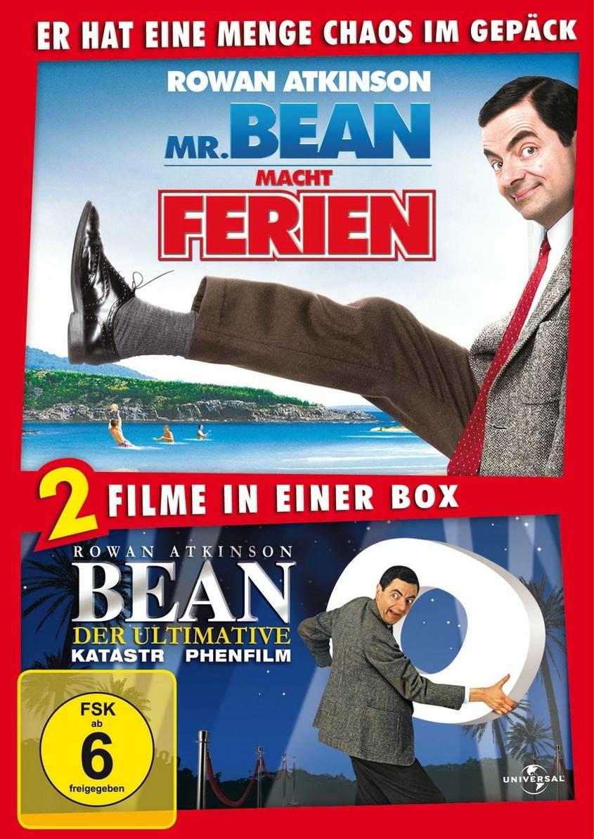 Doppelpack: Bean - Der ultimative Katastrophenfilm/Mr. Bean macht Ferien 20th Anniversary