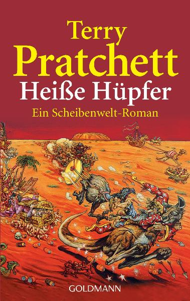 Heiße Hüpfer: Ein Scheibenwelt-Roman - Terry Pratchett