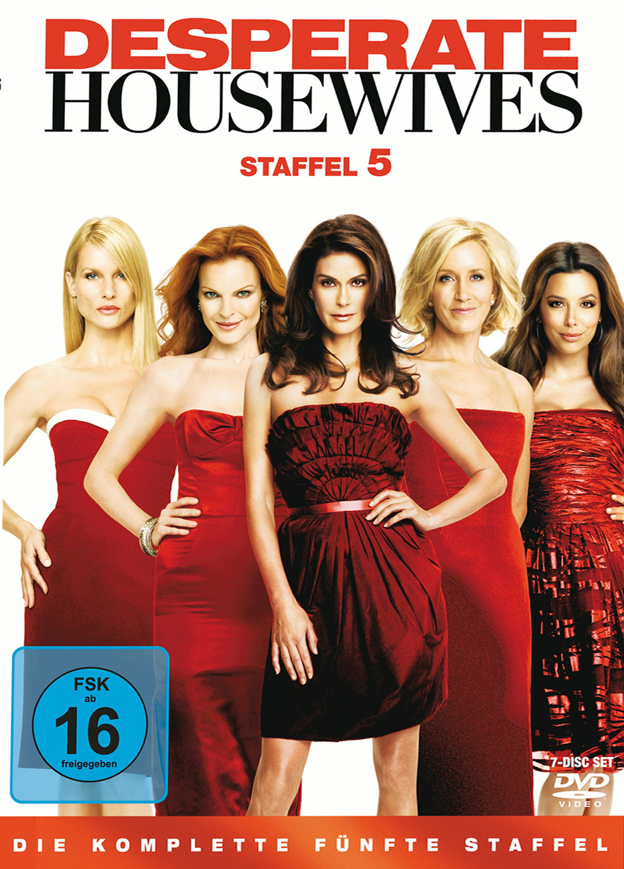 Desperate Housewives: Die komplette fünfte Staffel [7 DVDs]