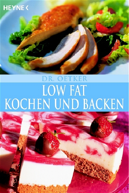 Low Fat Kochen und Backen - Dr. Oetker