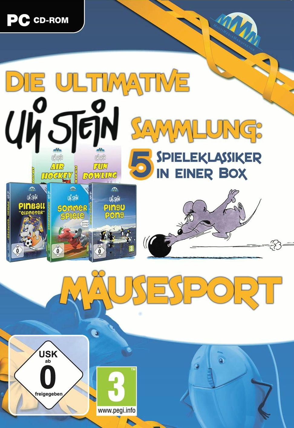 Die ultimative Uli Stein Sammlung: Mäusesport