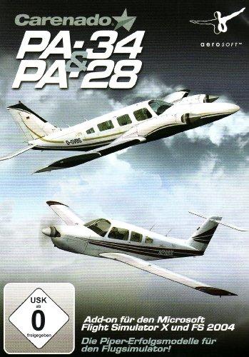 MS FS 2004/FSX AddOn Carenado PA28 & PA34