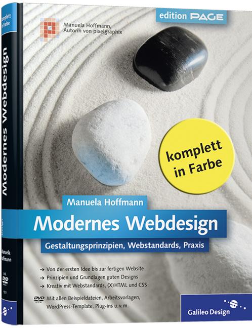 Modernes Webdesign: Gestaltungsprinzipien, Webs...