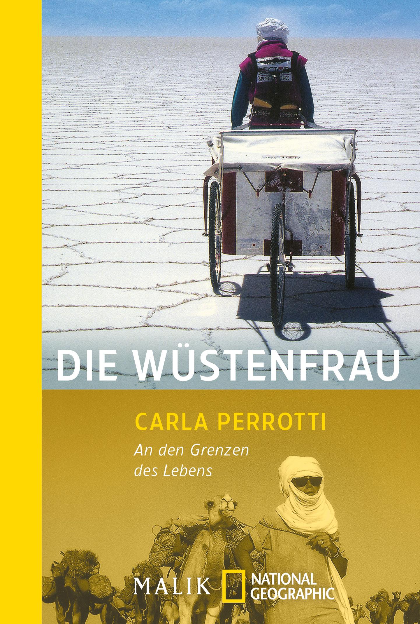 Die Wüstenfrau: An den Grenzen des Lebens - Car...