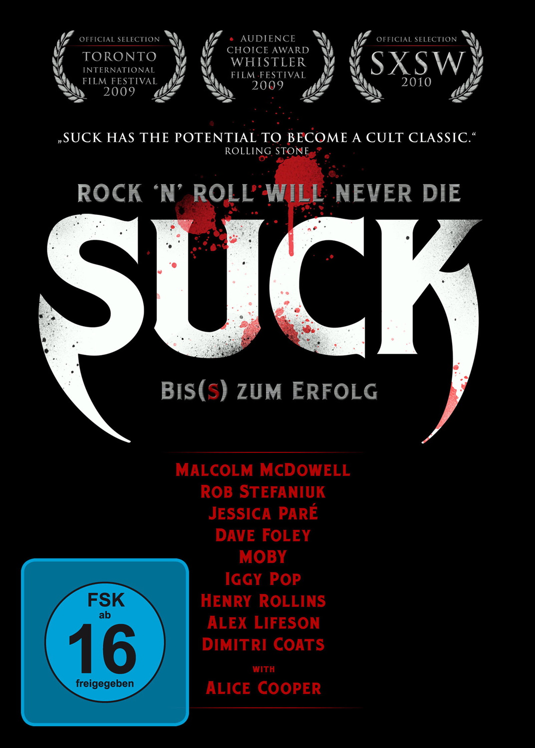 SUCK [Steelbook, 2 DVDs]