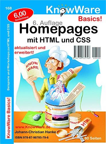 Homepages mit HTML und CSS. Beispiele und Works...