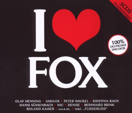 Various - I Love Fox-100 Prozent Deutscher Disc...