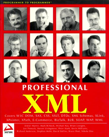 Professional XML (Programmer to Programmer) - D...