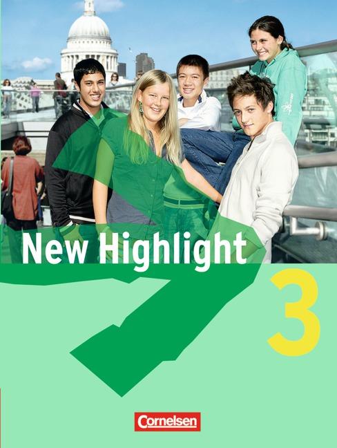 New Highlight: New Highlight Allgemeine Ausgabe 3: 7. Schuljahr. Schülerbuch