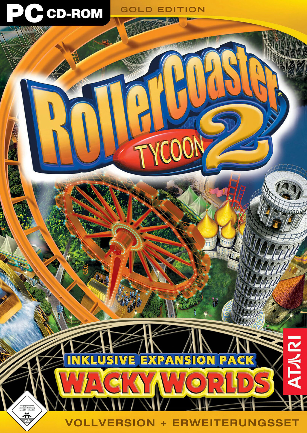 Roller Coaster Tycoon 2 [Gold Edition]