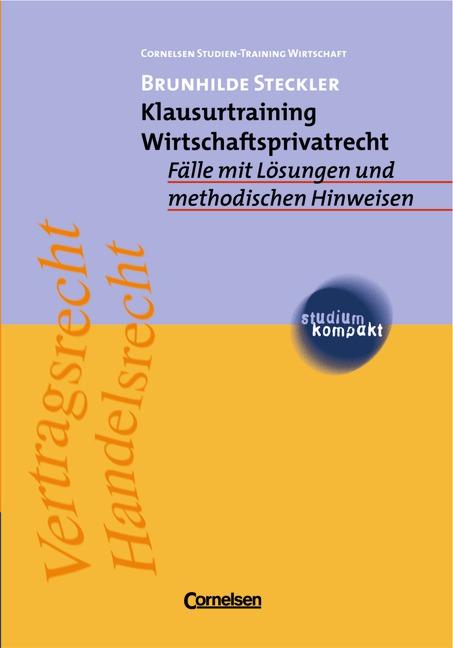 studium kompakt. Cornelsen Studien-Training Wir...