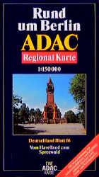 ADAC Karte, Rund um Berlin