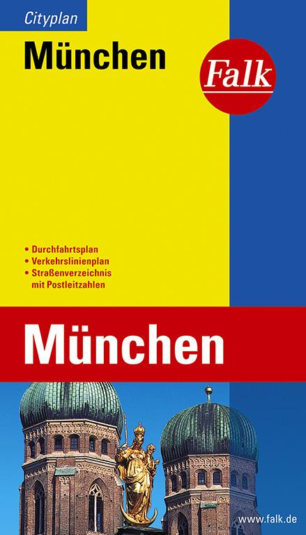 Falk Cityplan München - Falk Verlag