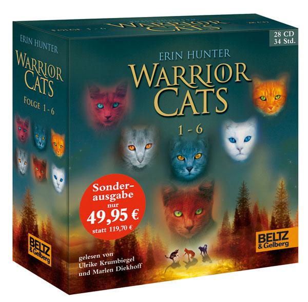 Warrior Cats 1-6 - Erin Hunter