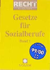 Gesetze für Sozialberufe I/ II: 2 Bde.