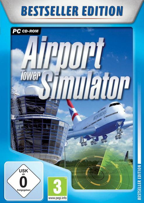 ATC Airport Tower Simulator Bestseller Edition