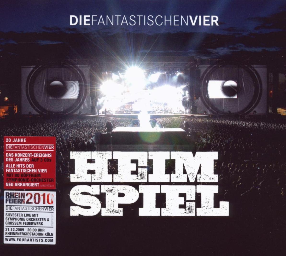 Die Fantastischen Vier - Heimspiel - 3 Audio CD...