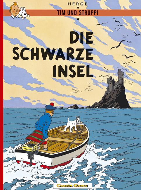Tim und Struppi, Carlsen Comics, Neuausgabe, Bd.6, Die schwarze Insel - Herge