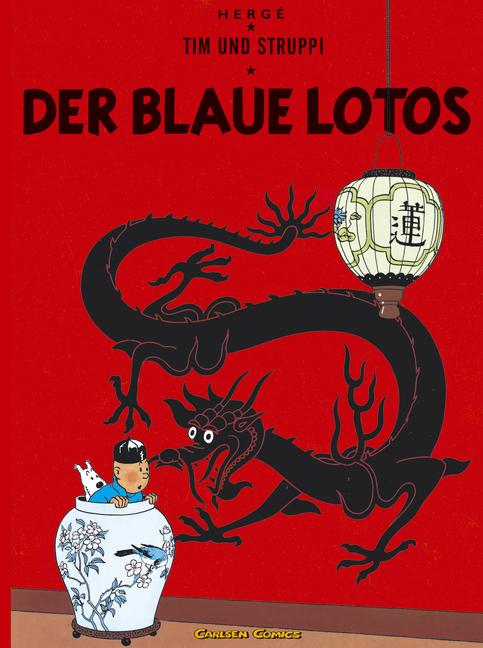 Tim und Struppi Band 4: Der blaue Lotos - Herge