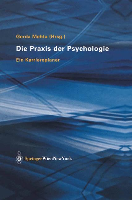 Die Praxis der Psychologie: Ein Karriereplaner