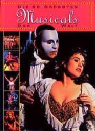 Die 50 größten Musicals der Welt. Mit CD - Iris...