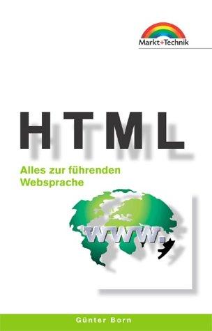 HTML - Taschenbuch . Alles zur führenden Webspr...