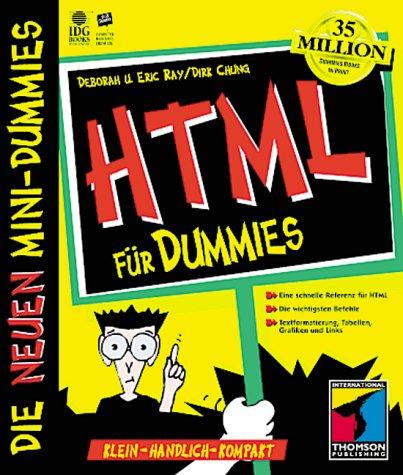 Mini-Dummy, HTML für Dummies - Eric Ray