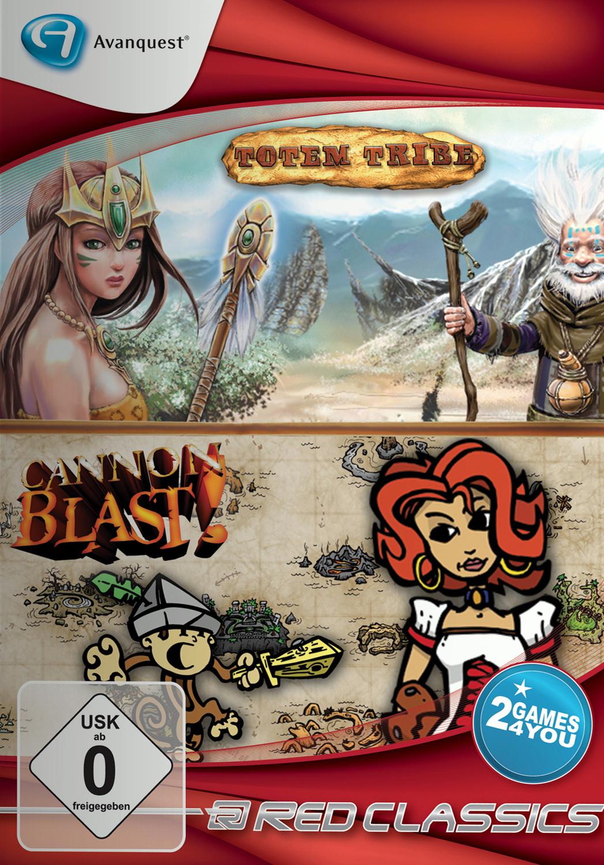 Red Classics: Totem Tribe & Cannon Blast