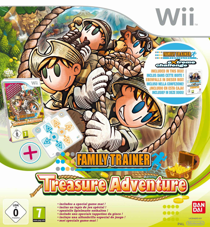 Family Trainer: Treasure Adventure [inkl. Aktio...