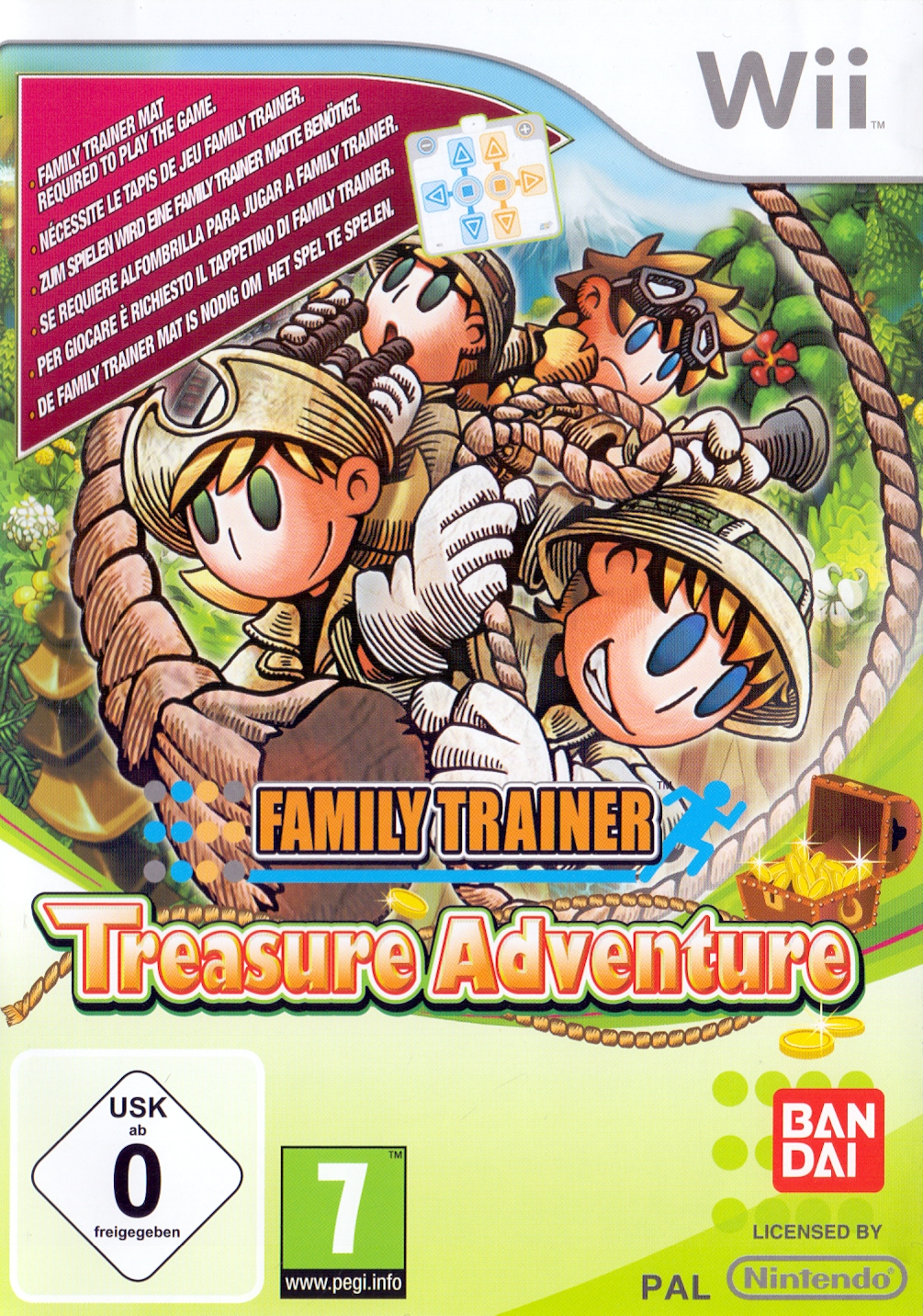 Family Trainer: Treasure Adventure [ohne Aktion...