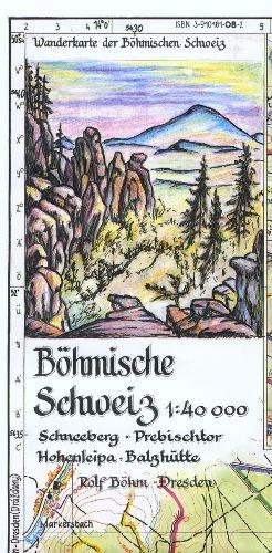 Böhmische Schweiz: Schneeberg - Prebischtor - H...