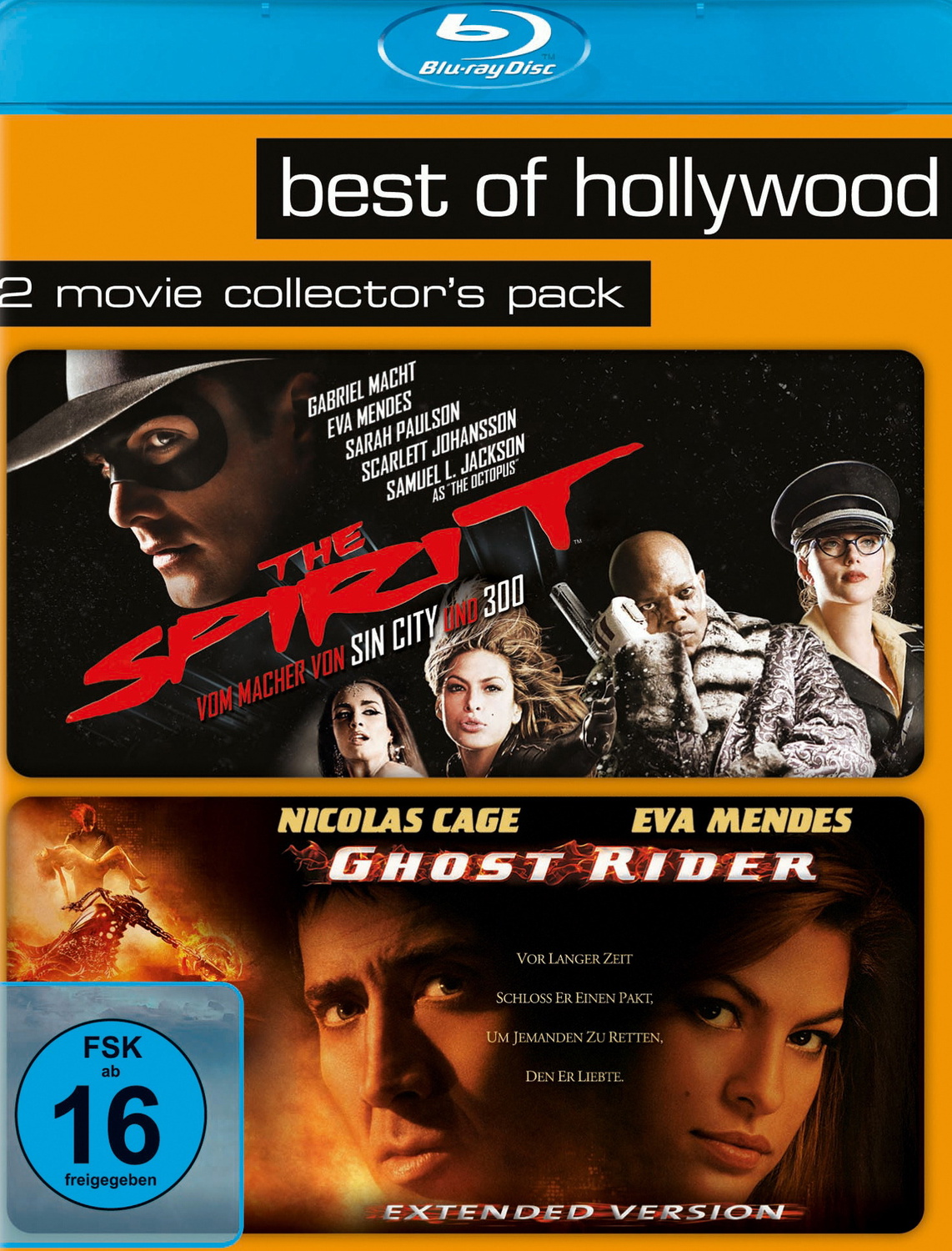 Best of Hollywood: 2 Movie Collection 27: The Spirit / Ghost Rider