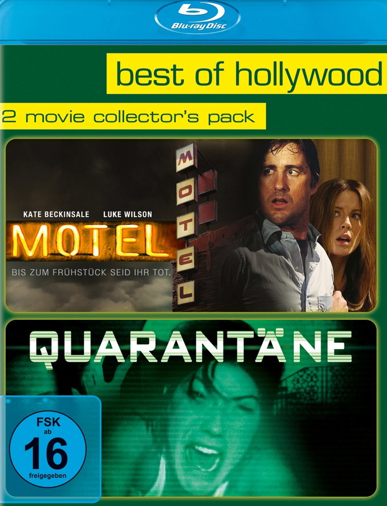 Best of Hollywood: 2 Movie Collection 32: Motel / Quarantäne