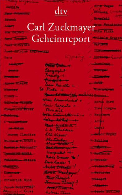 Geheimreport - Carl Zuckmayer
