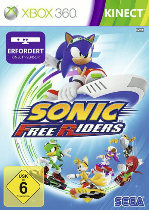 Sonic Free Riders [Kinect erforderlich]