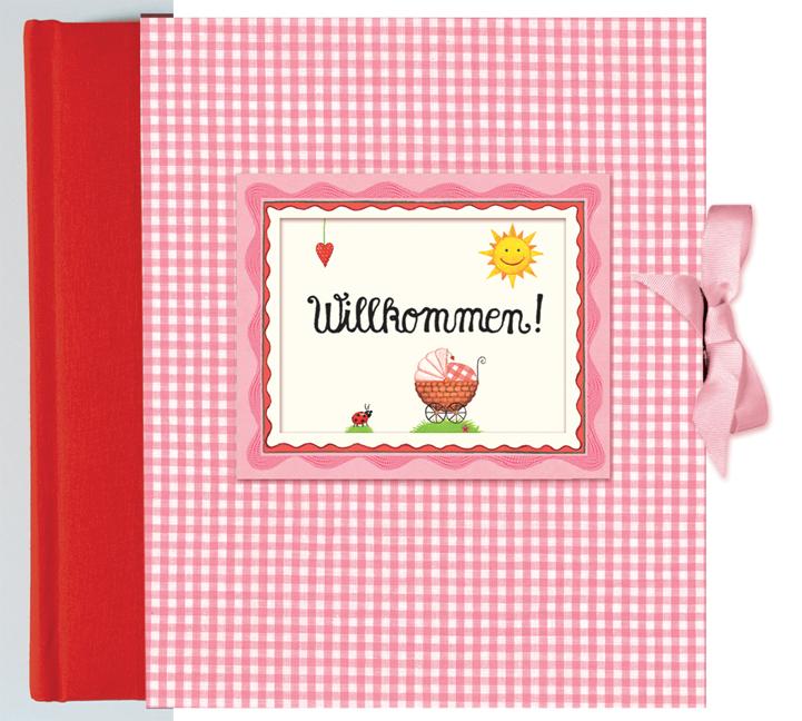 Willkommen! Babyalbum rosa - Anne Mußenbrock