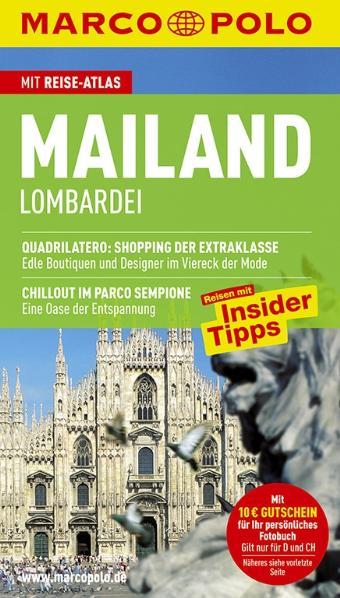 MARCO POLO Reiseführer Mailand/Lombardei: Quadr...