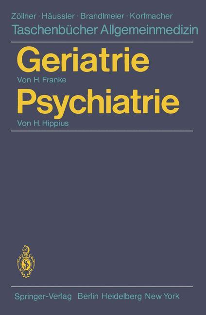 Geriatrie / Psychiatrie - Hans Franke