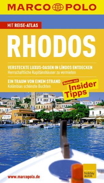 MARCO POLO Reiseführer Rhodos: Reisen mit Insider-Tipps. Mit Sprachführer und Reiseatlas - Klaus Bötig
