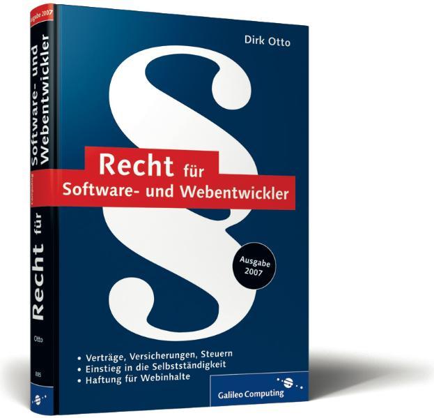Recht für Software- und Webentwickler: Checklis...