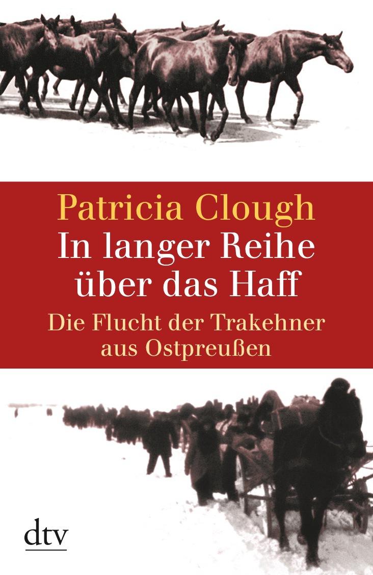 In langer Reihe über das Haff: Die Flucht der T...