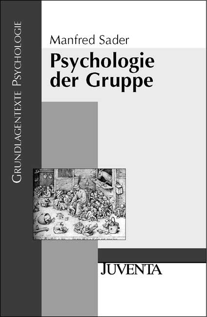 Psychologie der Gruppe - Manfred Sader