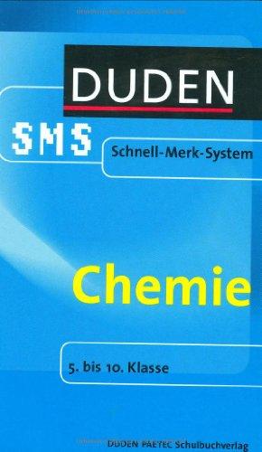 Chemie. Duden SMS. 5. bis 10. Klasse (Lernmater...