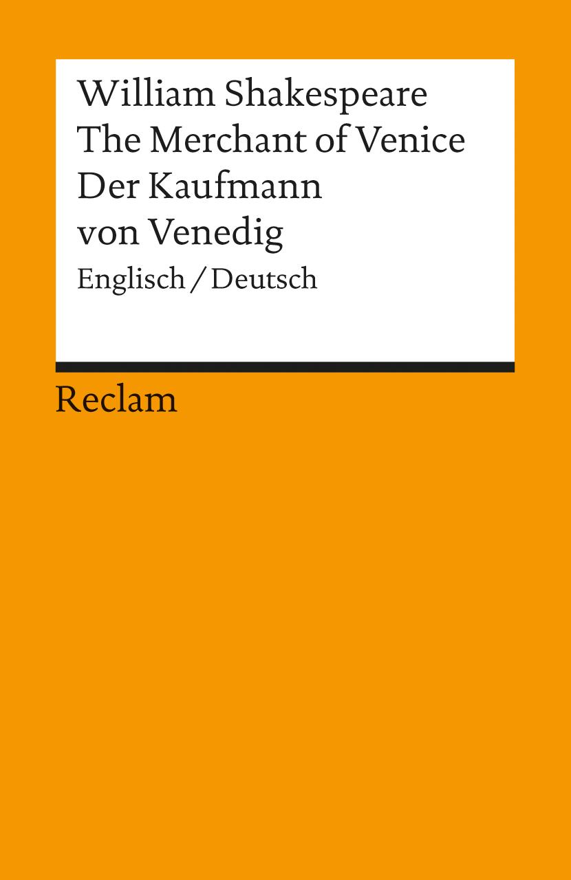 Der Kaufmann von Venedig, Englisch/Deutsch - William Shakespeare