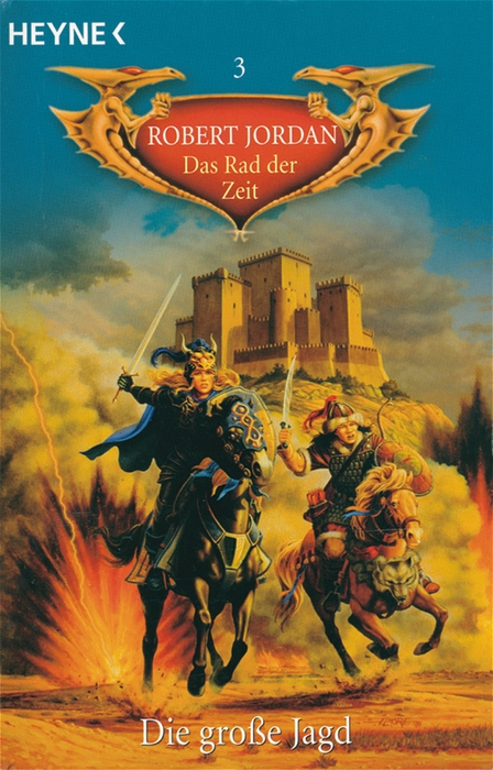 Das Rad der Zeit - Band 3: Die Große Jagd - Robert Jordan