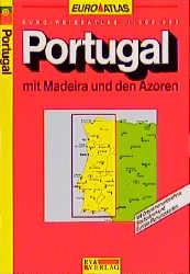 Euro-Atlas, Portugal mit Madeira und den Azoren...